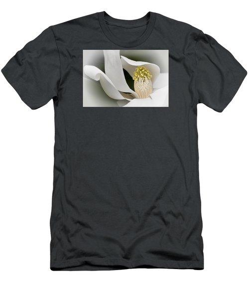 Men's T-Shirt (Athletic Fit) featuring the photograph Elegant Magnolia II by Ken Barrett