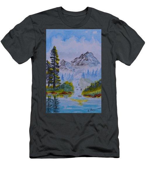 Elements Of Nature 2 Men's T-Shirt (Athletic Fit)