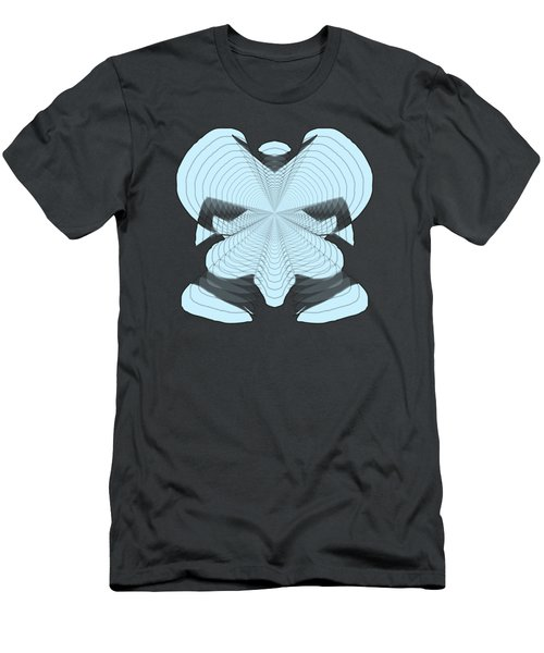 Elephant In The Room Men's T-Shirt (Slim Fit) by Cathy Harper