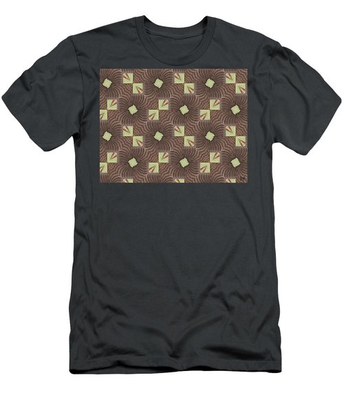 Elephant Trunk Men's T-Shirt (Slim Fit) by Maria Watt