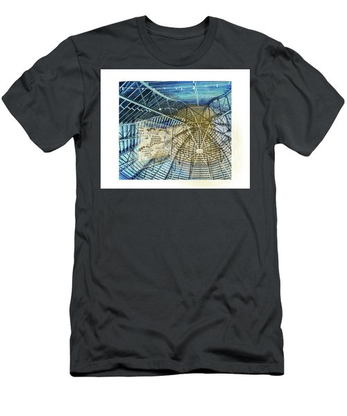 Elitch Pavilion Redo Men's T-Shirt (Slim Fit) by Deborah Nakano
