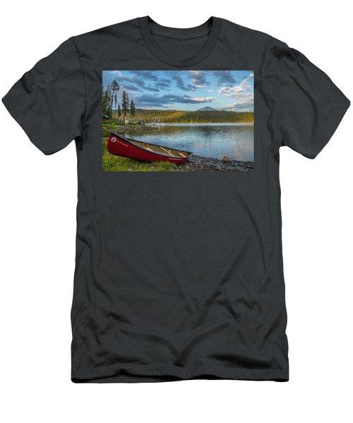 Elk Beach Memories Men's T-Shirt (Athletic Fit)