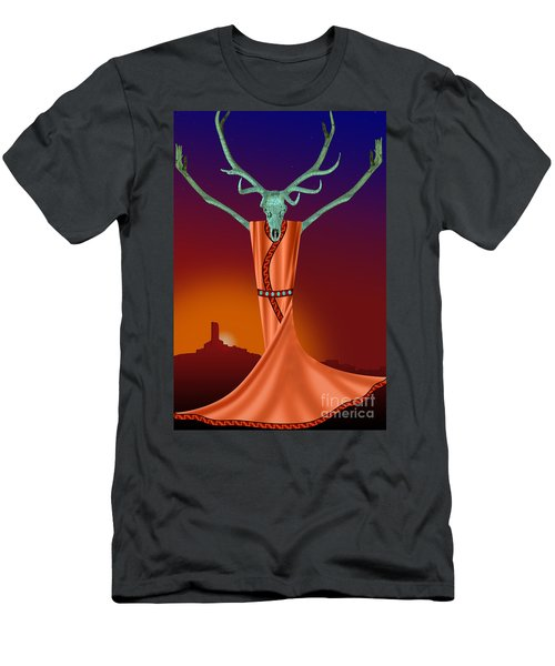 Elk Spirit Men's T-Shirt (Athletic Fit)