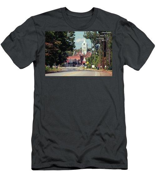 Men's T-Shirt (Slim Fit) featuring the photograph Ellaville, Ga - 2 by Jerry Battle