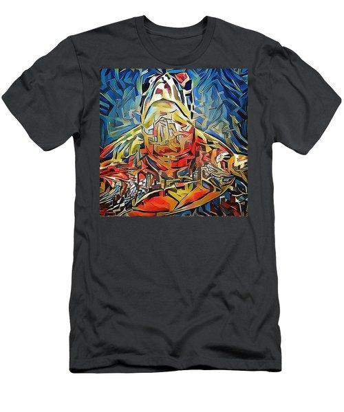 Ellis The Turtle Men's T-Shirt (Slim Fit) by Erika Swartzkopf