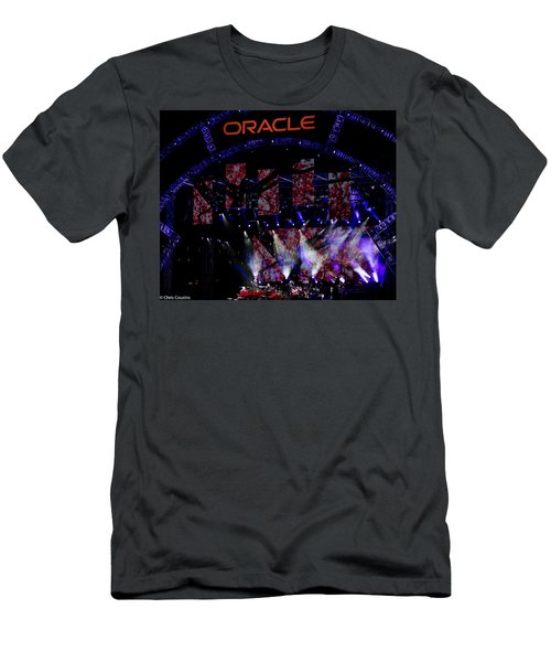 Elton John At Oracle Open World In 2015 Men's T-Shirt (Athletic Fit)