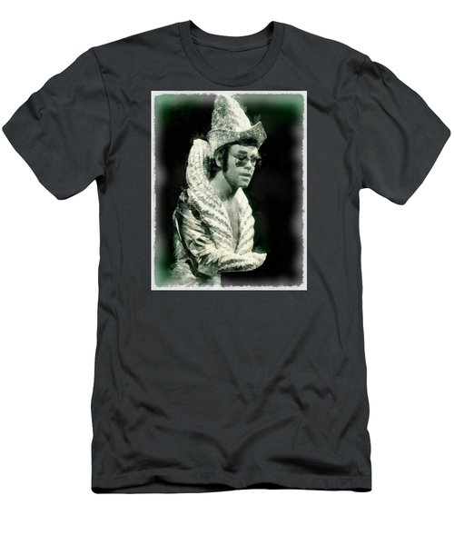 Elton John By John Springfield Men's T-Shirt (Slim Fit) by John Springfield