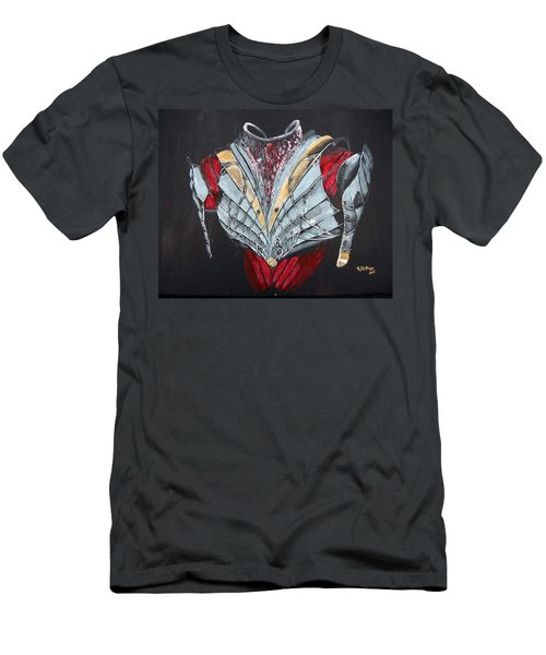 Men's T-Shirt (Athletic Fit) featuring the painting Elven Armor by Richard Le Page