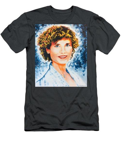 Emanuela Men's T-Shirt (Slim Fit) by Victor Minca