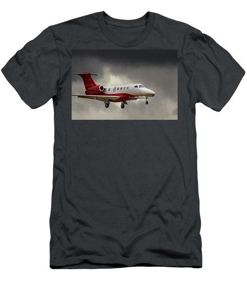 Emb-505  Landing Men's T-Shirt (Slim Fit) by James David Phenicie