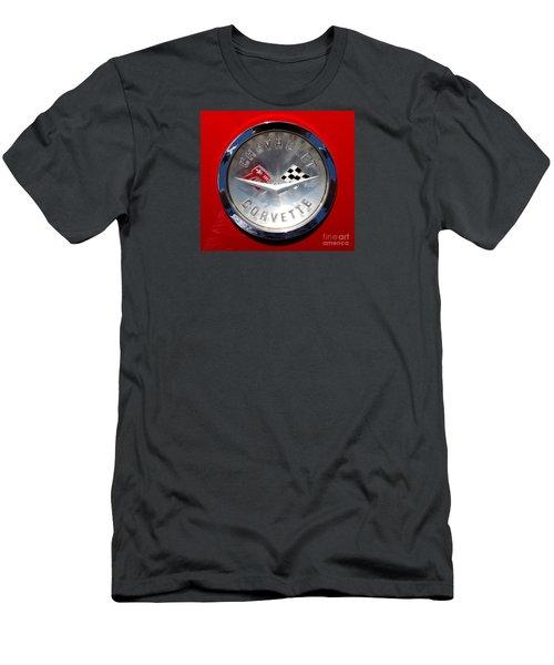 Men's T-Shirt (Slim Fit) featuring the photograph Emblem Beauty by Rebecca Davis