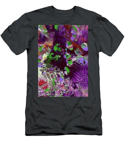 Emerald Butterflies Of Costa Rica Men's T-Shirt (Athletic Fit)