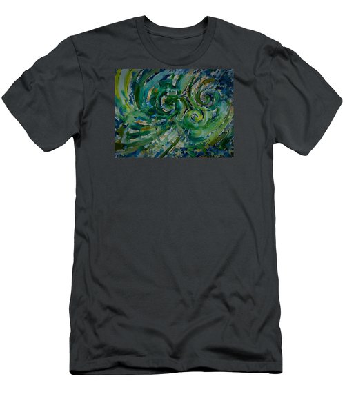 Emerald Green Men's T-Shirt (Athletic Fit)