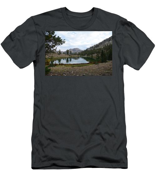 Jarbidge Wilderness Emerald Lake Men's T-Shirt (Slim Fit) by Jenessa Rahn