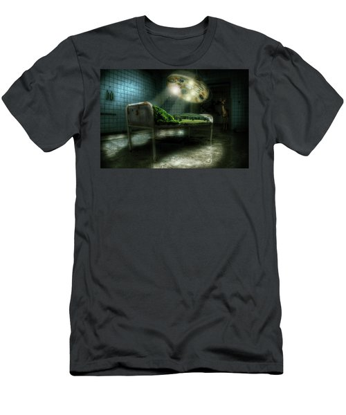 Men's T-Shirt (Slim Fit) featuring the digital art Emergency Nature  by Nathan Wright