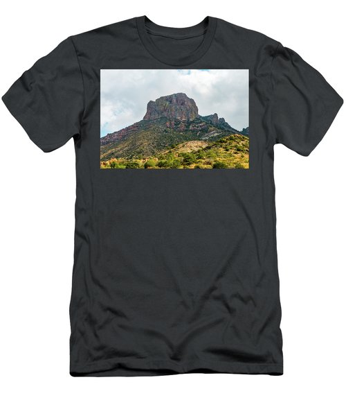 Emory Peak Chisos Mountains Men's T-Shirt (Athletic Fit)