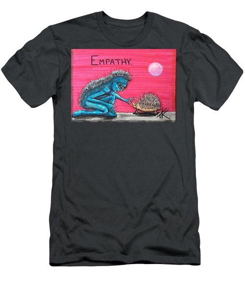 Empathetic Alien Men's T-Shirt (Athletic Fit)