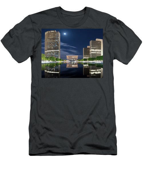 Empire State Plaza Men's T-Shirt (Athletic Fit)
