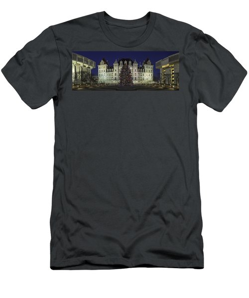 Empire State Plaza Holiday Men's T-Shirt (Athletic Fit)