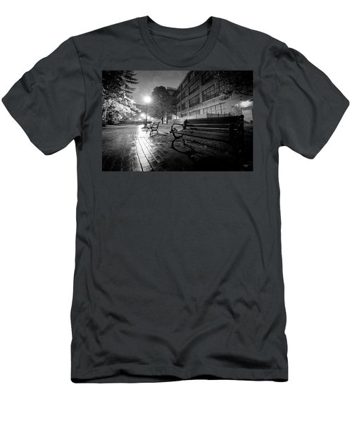 Men's T-Shirt (Slim Fit) featuring the photograph Emptiness by Everet Regal