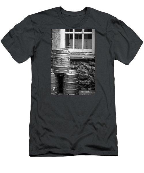 Empty In Edinburgh Men's T-Shirt (Slim Fit) by Amy Fearn