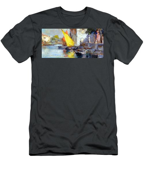 En Plein Air In Venice Men's T-Shirt (Athletic Fit)