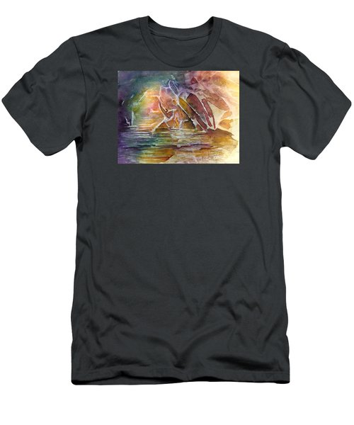 Enchanted Cavern Men's T-Shirt (Athletic Fit)