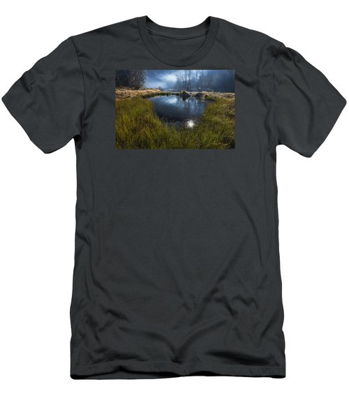 Enchanted Pond Men's T-Shirt (Athletic Fit)