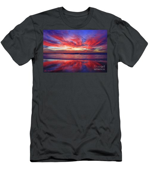Men's T-Shirt (Athletic Fit) featuring the photograph Encinitas Energy by John F Tsumas