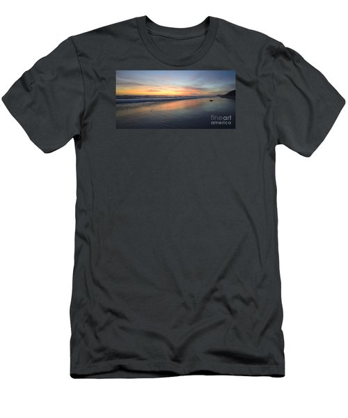 Men's T-Shirt (Athletic Fit) featuring the photograph Encinitas Light by John F Tsumas