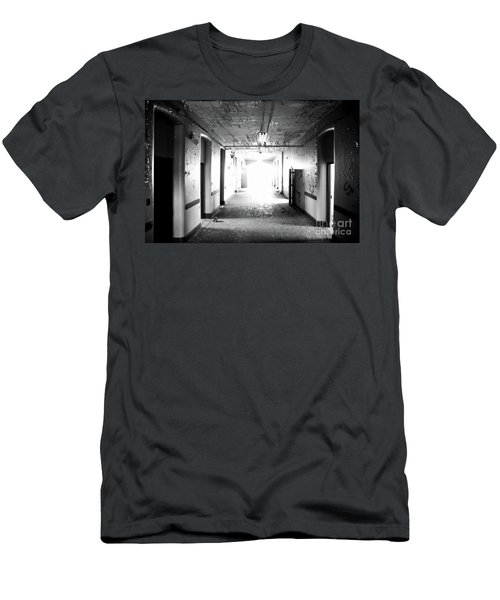 End Of The Hall Men's T-Shirt (Slim Fit) by Randall Cogle
