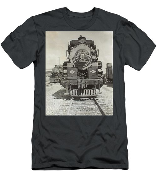 Men's T-Shirt (Athletic Fit) featuring the photograph Engine 715 by Jeanne May