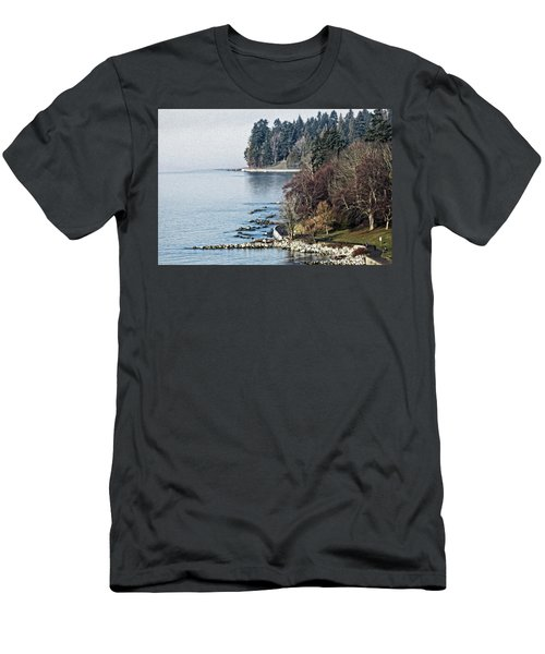 English Bay Shore Men's T-Shirt (Athletic Fit)