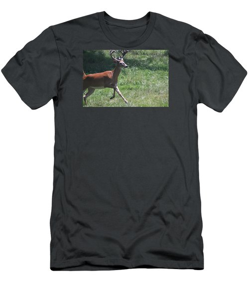 Men's T-Shirt (Slim Fit) featuring the photograph Enjoying A Bright Day by Vadim Levin