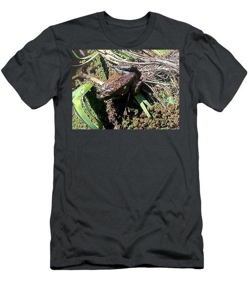 Enjoying Sunshine Men's T-Shirt (Slim Fit)