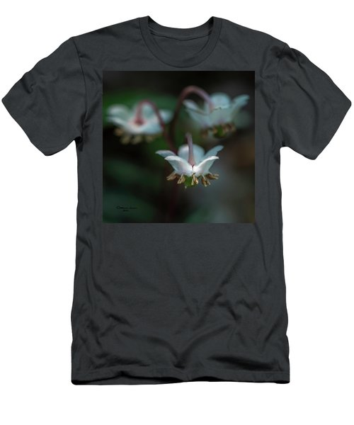 Enjoying The Flowers Men's T-Shirt (Athletic Fit)