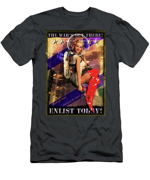 Enlist Today Men's T-Shirt (Athletic Fit)