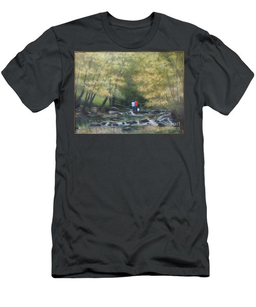 Eno River Afternoon Men's T-Shirt (Athletic Fit)
