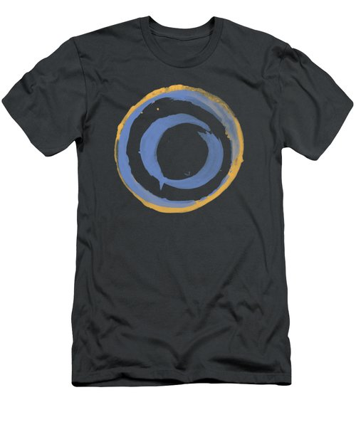Enso T Blue Orange Men's T-Shirt (Athletic Fit)