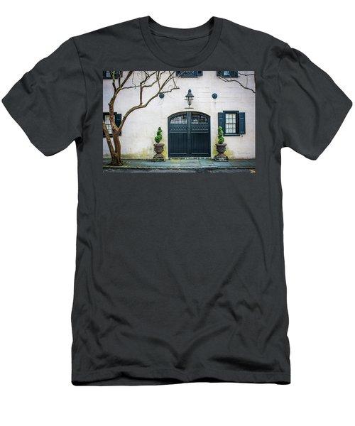 Enter Here Men's T-Shirt (Athletic Fit)