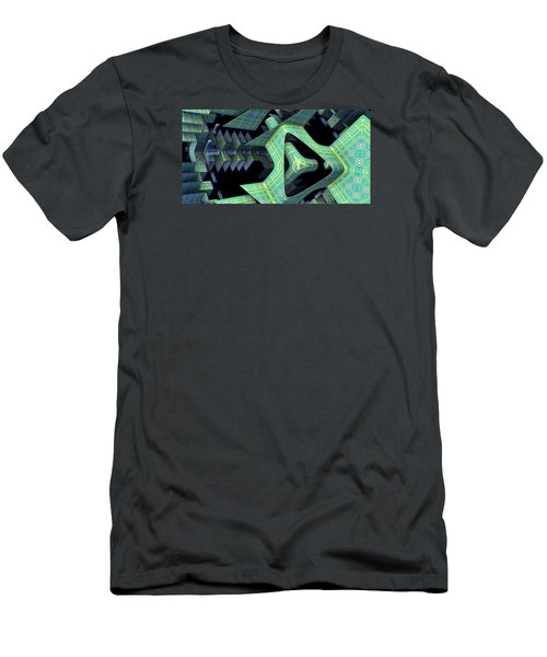 Men's T-Shirt (Slim Fit) featuring the digital art Epic by Lyle Hatch