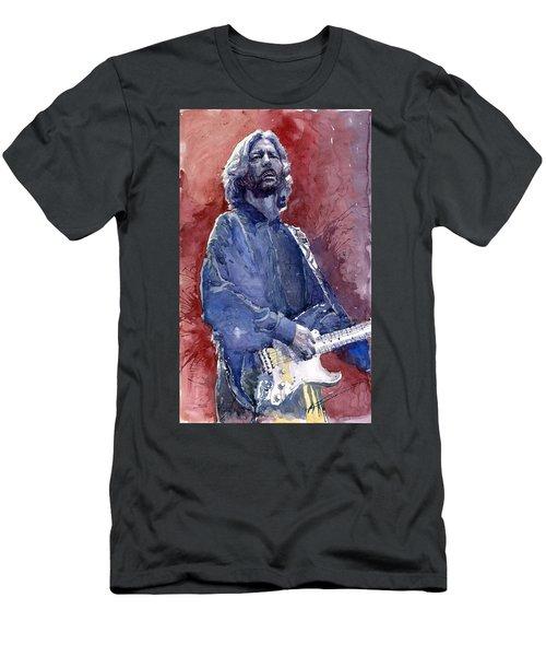 Eric Clapton 04 Men's T-Shirt (Athletic Fit)