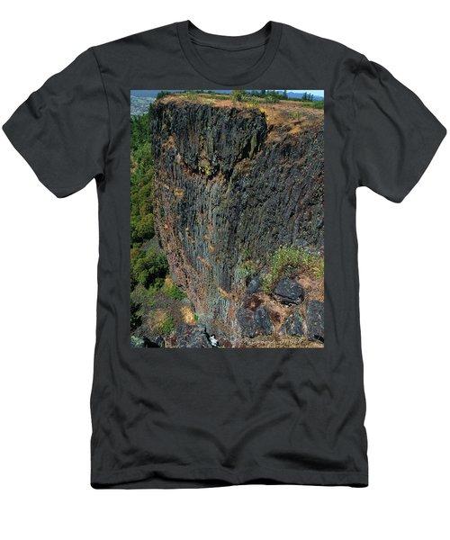Erosion Of Flow Men's T-Shirt (Athletic Fit)