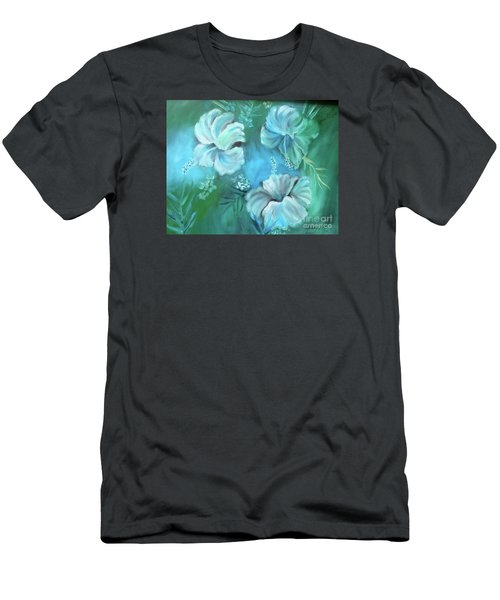 Escape To Serenity Men's T-Shirt (Slim Fit) by Jenny Lee