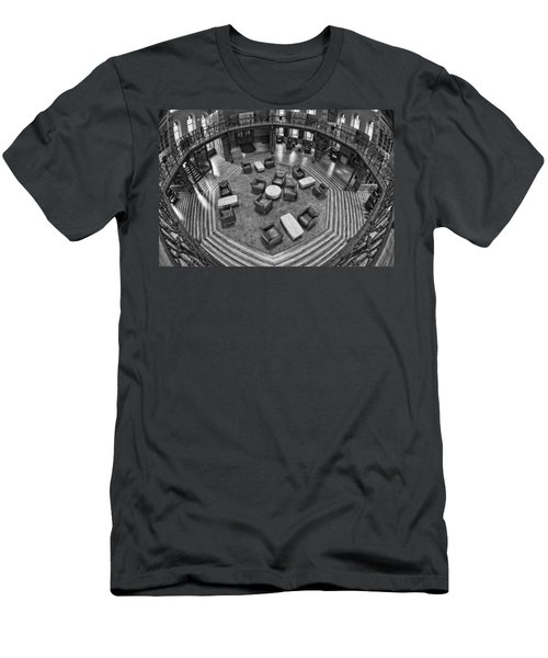 Escher's Study Men's T-Shirt (Athletic Fit)
