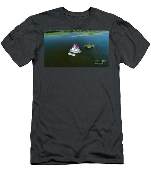 Esopus Lighthouse Men's T-Shirt (Athletic Fit)