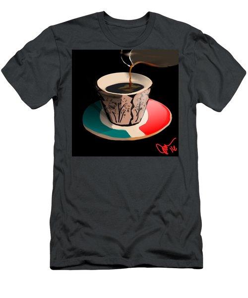 Espresso Men's T-Shirt (Athletic Fit)