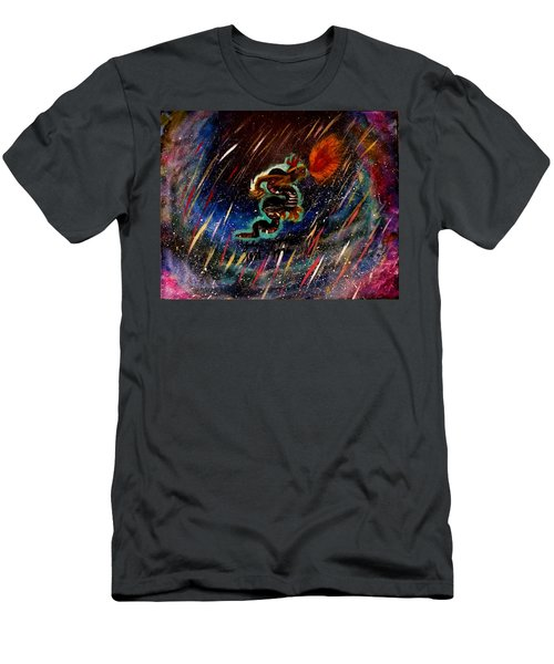Eternal Flame  Men's T-Shirt (Athletic Fit)