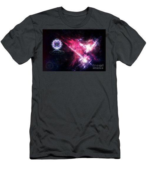 Men's T-Shirt (Athletic Fit) featuring the digital art Eternal by Michal Dunaj