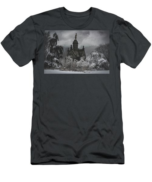 Men's T-Shirt (Slim Fit) featuring the digital art Eternal Winter by Chris Lord